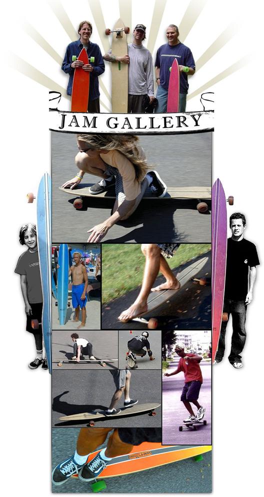 Jam Longboard