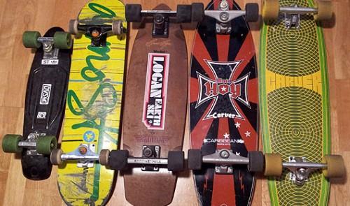Quiver skateboards longboards