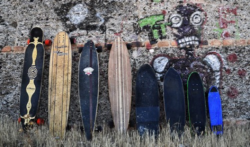 quiver dnothink skateboards