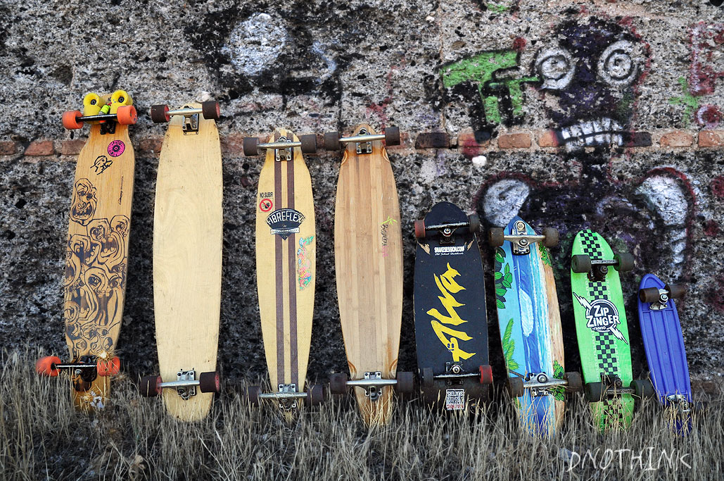 Quiver skateboards dnothink