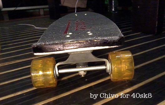 Restauración skateboard Sancheski