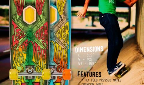 Sector 9 Joel Tudor skateboard