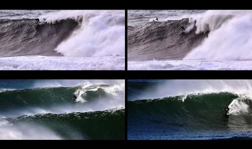 Skeet Derham surf video invierno en el cantábrico
