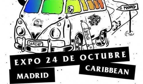 Expo skate art en Caribbean