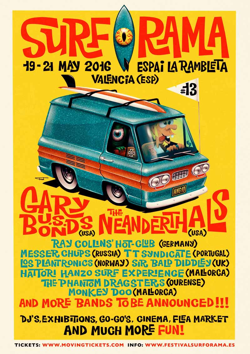 Cartel Surforama 2016
