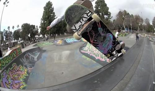 RVCA skatepark Long Beach