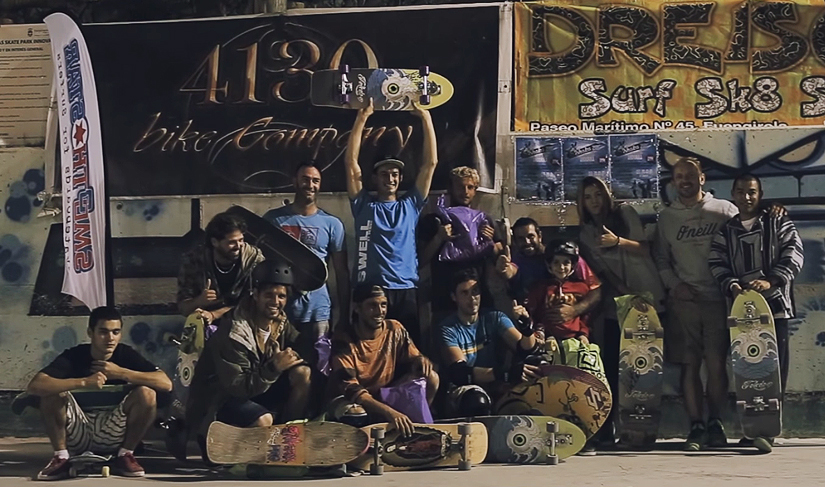 Smoothstar 1 Jam sesion Surf-skate Benalmadena