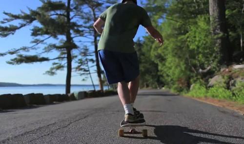 Longboarding: Alex in Acadia