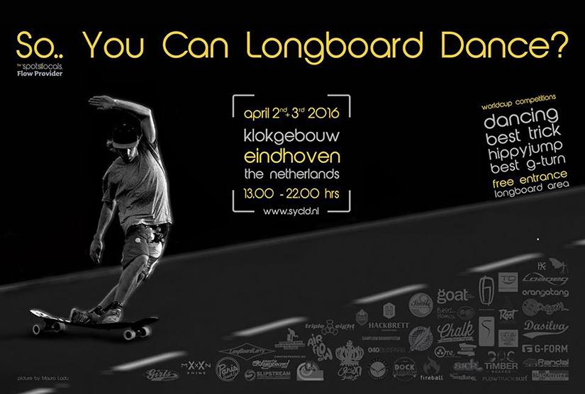 So.. You can longboard dance 2016