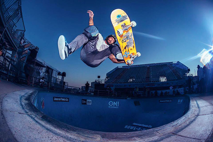 bowl-a-rama Bucky Lasek. Photo: Dean Tirkot