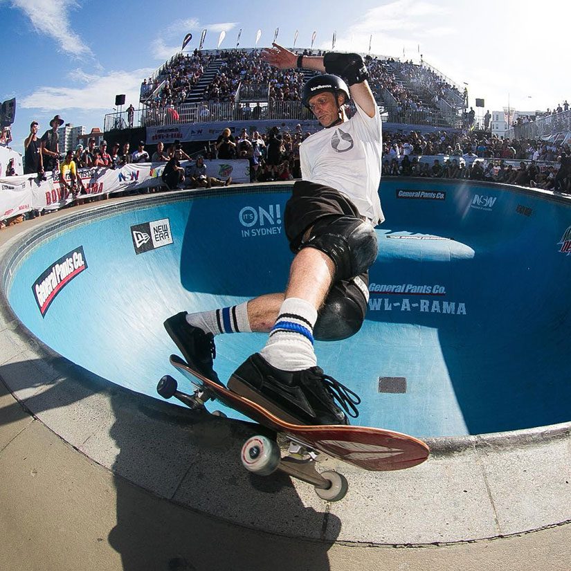 bowl a rama. Tony Hawk.Photo: Riely Walker