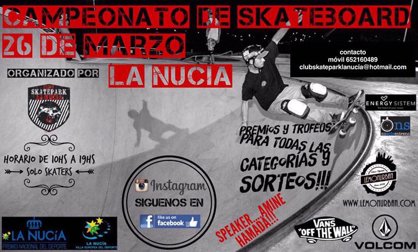 Campeonato Skatepark La Nucia