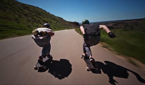 Noah Fischer y Ryan Bishop freeride en Santa Barbara