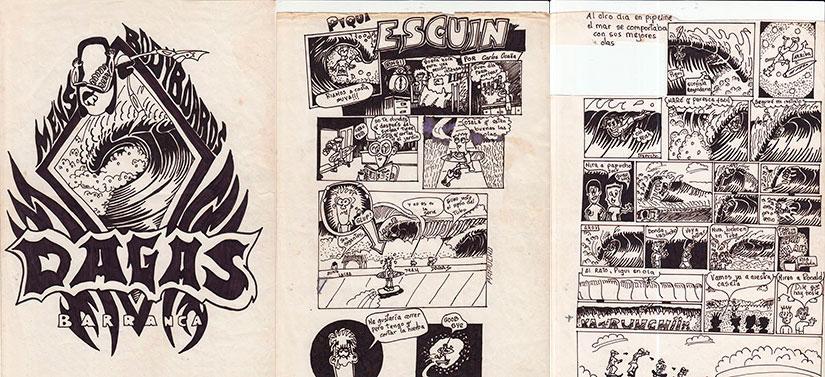 Papucho-Nicoll. Comic-1-3