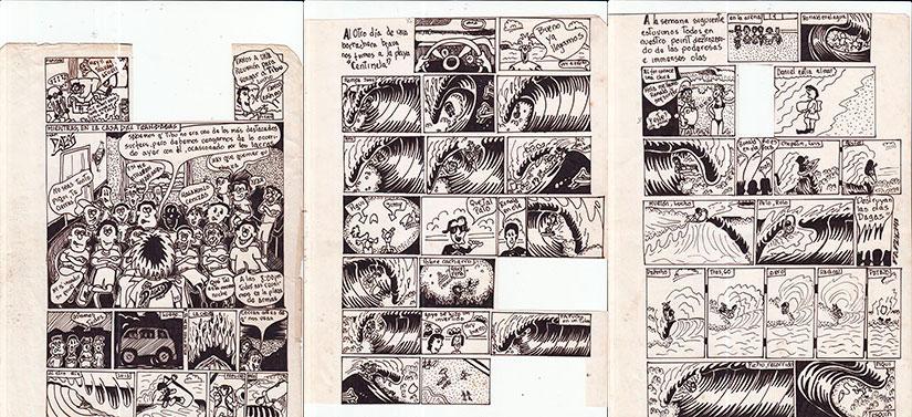 Papucho Nicoll. Comic 4-6
