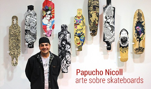 Papucho Nicoll. 40sk8