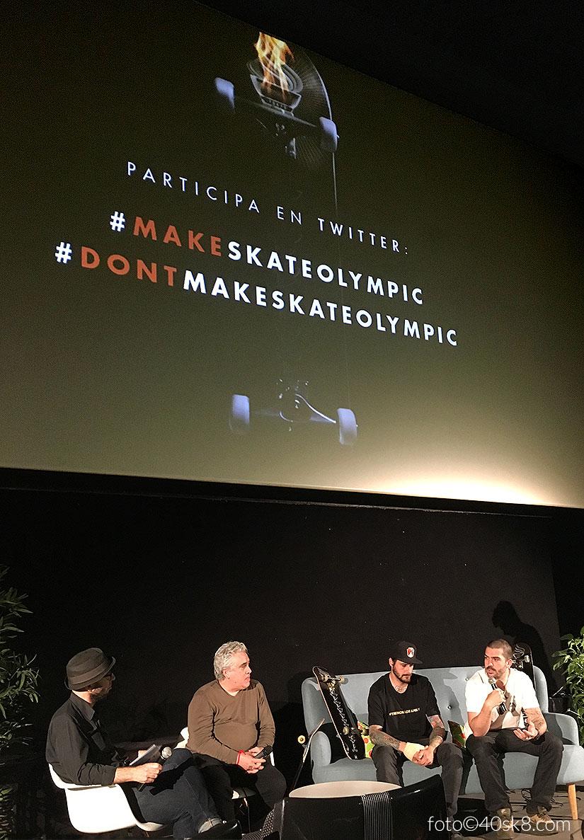debate skate deporte olimpico