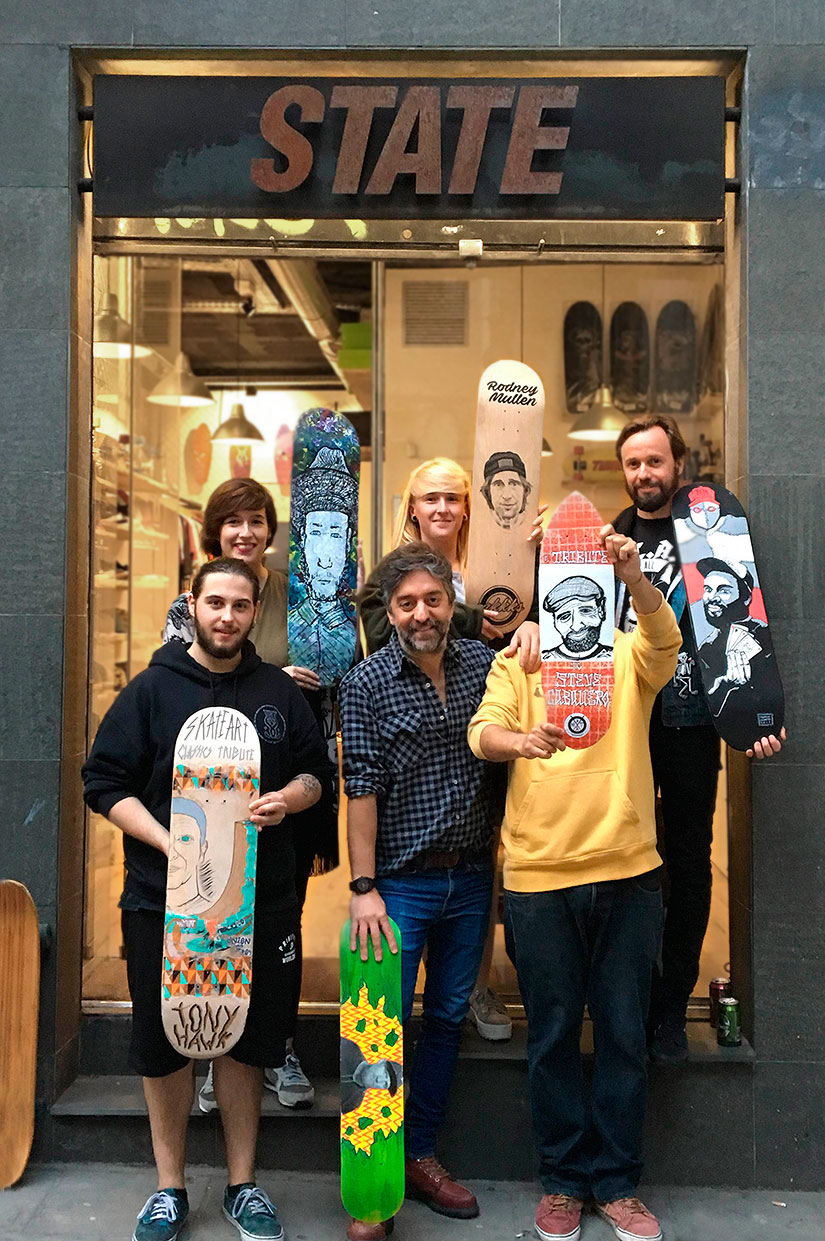 expo skateart classsics tribute