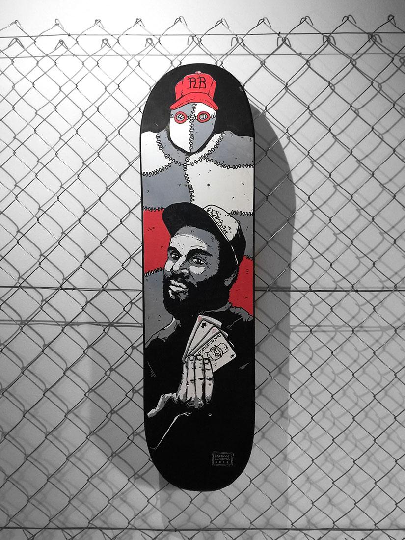 Skateart Classics Tribute Marcos Cabrera