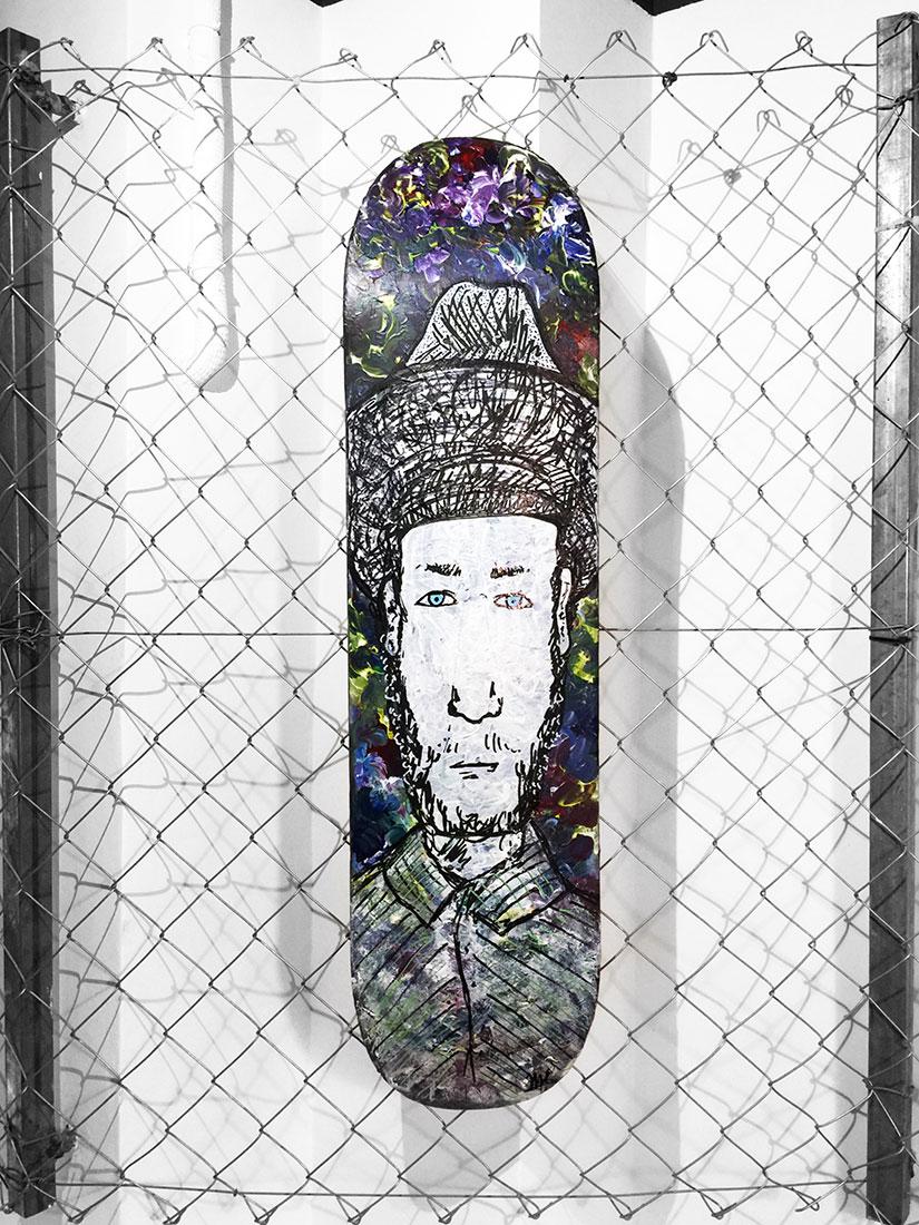 Skateart Classics Tribute Maria Callizo Monge
