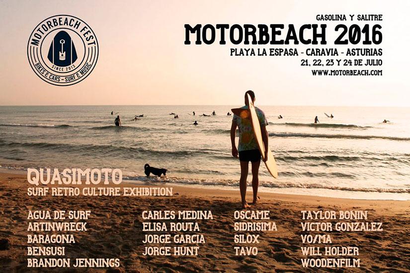 Motorbeach Quasimoto Surf Retro