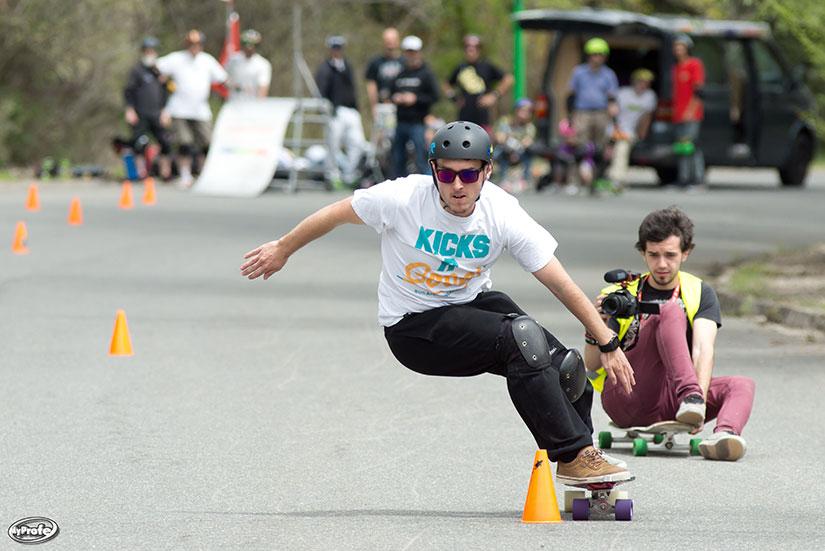 Pablo Martinez Longboard slalom