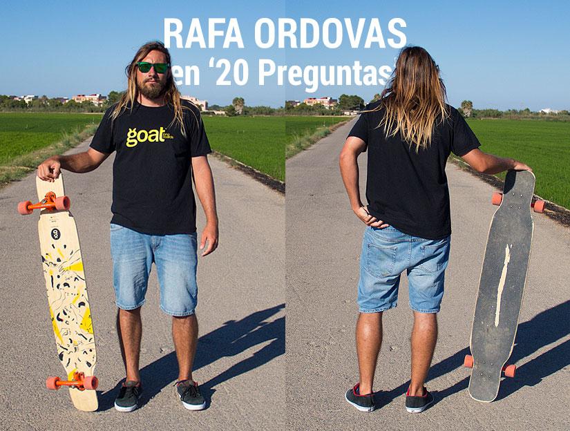 Rafa Ordovas en 20 preguntas