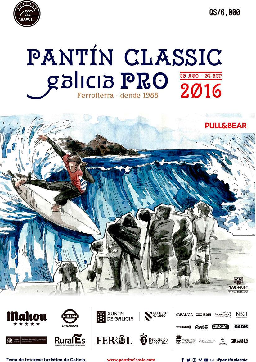 Pantin Classic Galicia Pro 2016