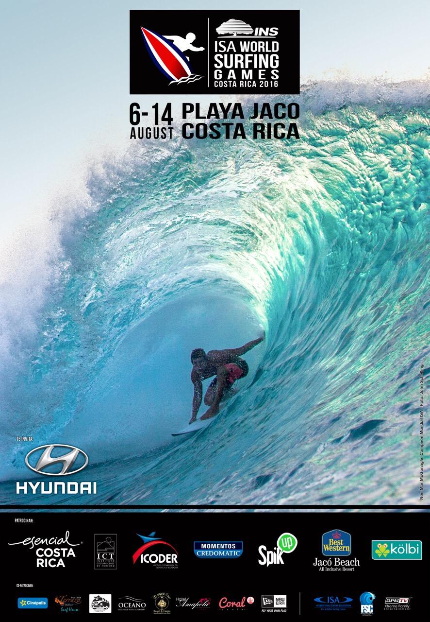 Cartel ISA World Surfing Games
