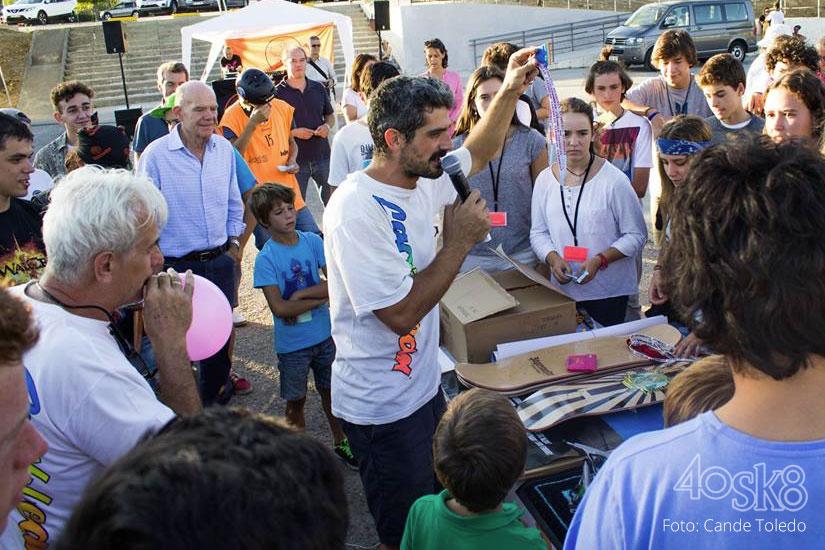 evento 10 aniversario 40sk8 rifa solidaria 1ª
