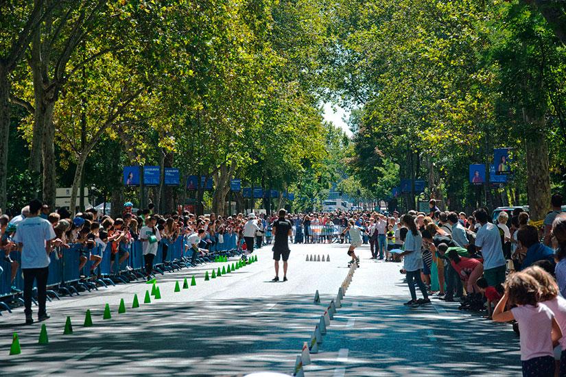 slalom sssa madrid 2016 - paseo recoletos