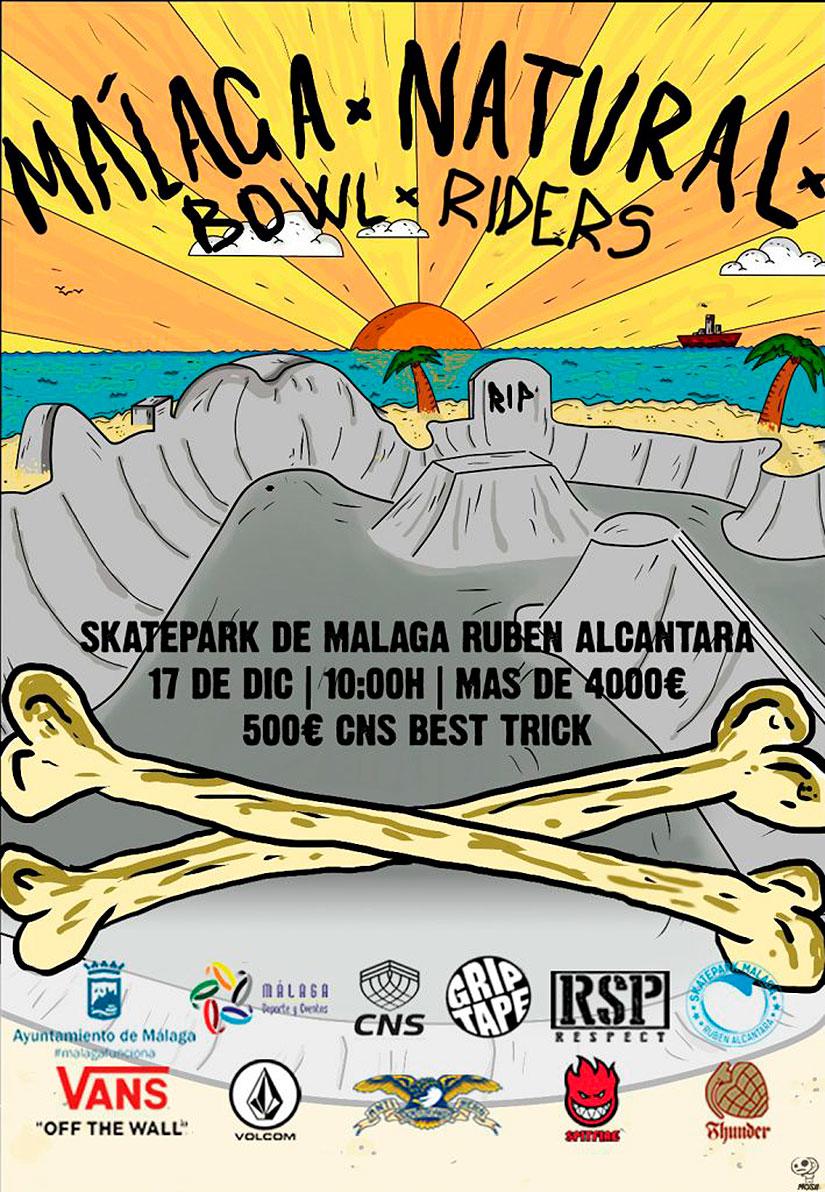 malaga natural bowl riders