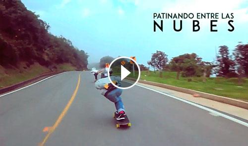 40sk8-Longboard-Colombia-patinando-entre-nubes-destacada