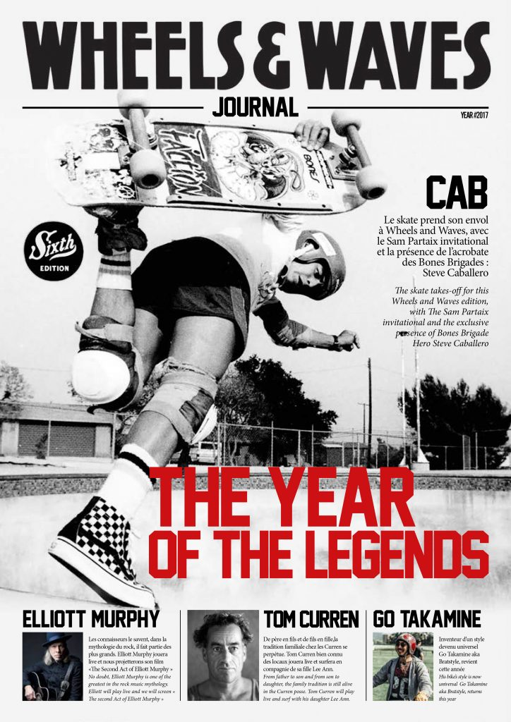 wheels & waves the year of the legends, Steve Caballero