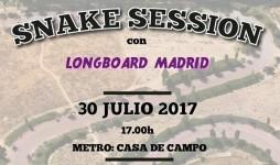 Snake Session Longboard Madrid