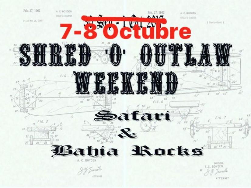 Shred'o'Outlaw-Weekend