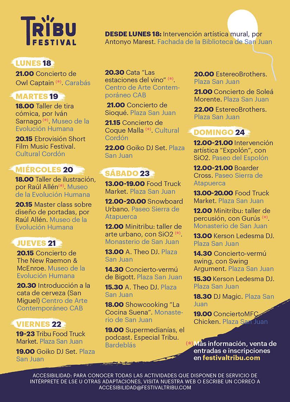 horarios-festival-tribu-2017