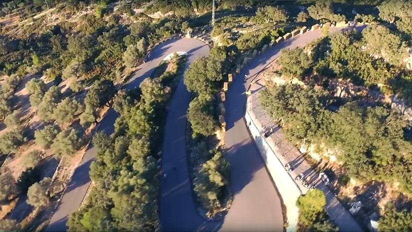 40sk8-Vídeo-del-VI-Freeride-Sant-Mateu-por-Longboard-Valencia