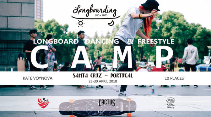 Longboard Camp con Kate Voynova en Portugal