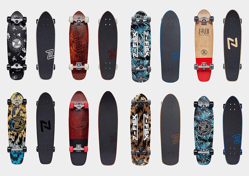 Nuevos Cruisers Z-Flex longboards