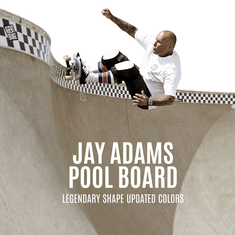 Skateboard Jay Adams Pool