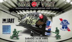 La Nave War of Vert International Skateboarding Vert Contest