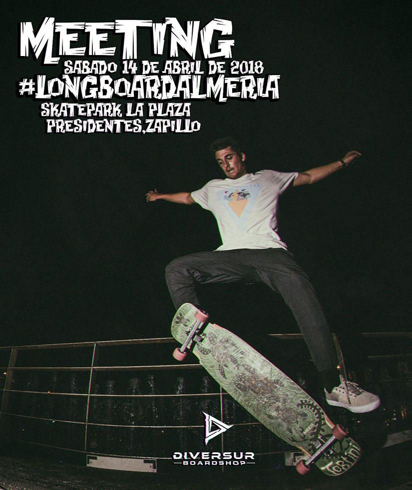 Meeting Longboard Almeria