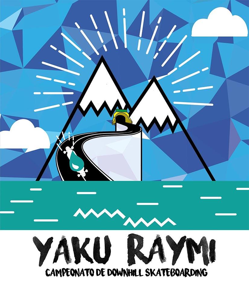 Yaku Raymi CampeonatoProfesional de Downhill Skate