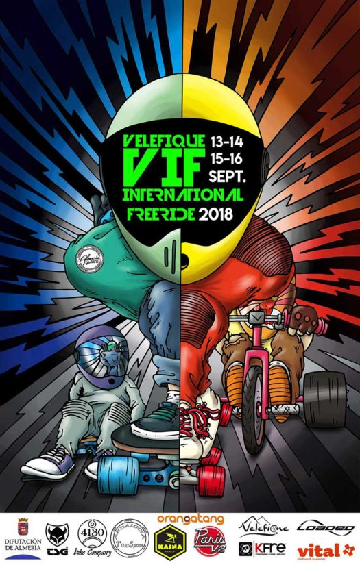 Velefique International Freeride 2018