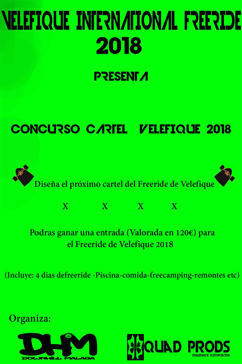 Concurso cartel Freeride Velefique 2018
