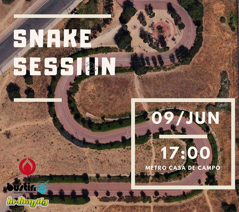 Snake Session Longboard Madrid 2018