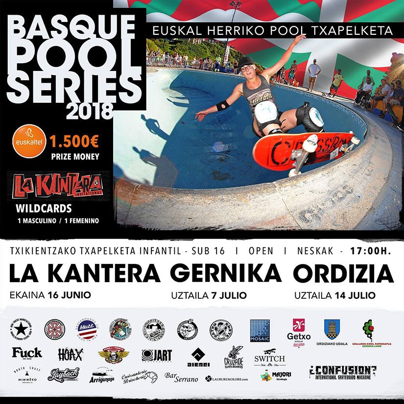 Basque Pool Series 2018 La Kantera