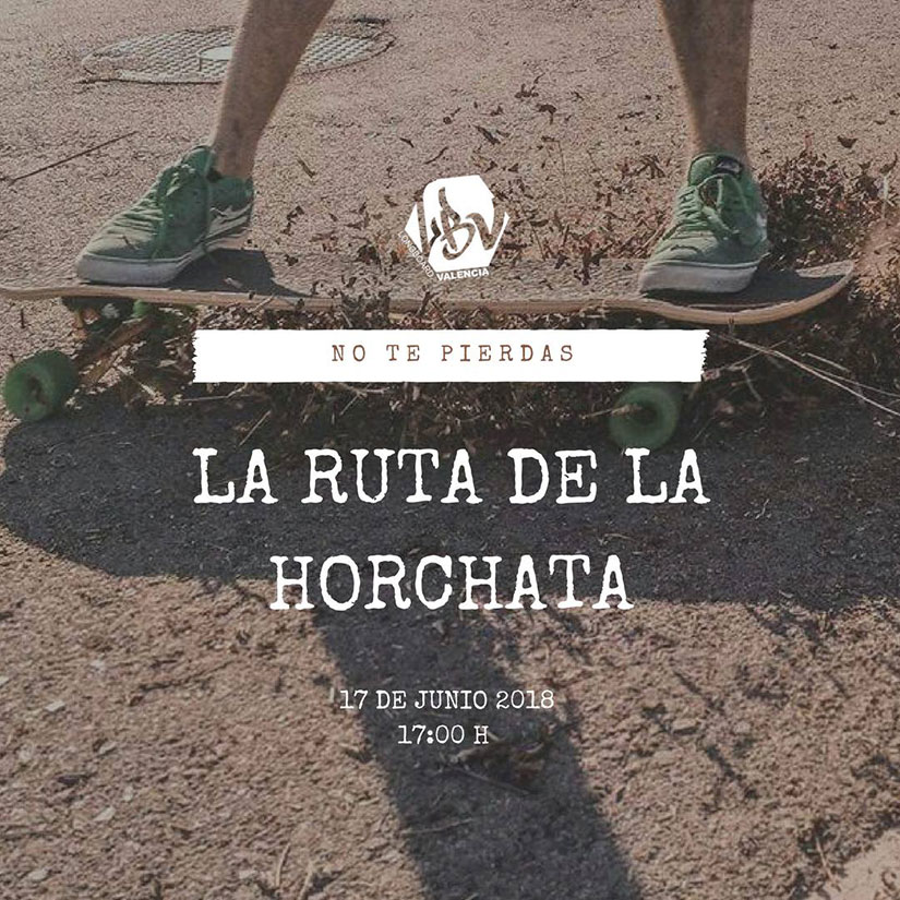 Longboard Valencia Ruta de la Horchata