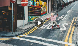 Video Robert Burns en Hong Kong con AHMYO Wheels